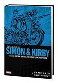 Timelys Greatest HC Golden Age Simon & Kirby Omnibus