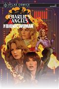 Charlies Angels vs Bionic Woman #1 Sgn Atlas Ed (C: 0-1-2)
