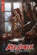 Red Sonja Birth of She Devil #2 Cvr A Parrillo