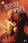 Monster World Golden Age #1 (of 6) Cvr B Nat Jones