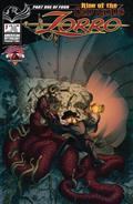 Zorro Rise of The Old Gods #1 Cvr A Kaluta