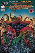 Zorro Rise of The Old Gods #1 Cvr B Lovecraftian Calzada