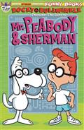 Rocky & Bullwinkle Best of Peabody & Sherman #1 Cvr B Ltd Ed