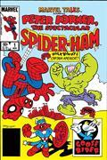 DF True Believers Tails Spiderham #1 Sgn Defalco