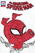 DF Amazing Spiderman #1 Sgn Rmrk Hidalgo Sketch