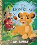 DISNEY-LION-KING-I-AM-SIMBA-LITTLE-GOLDEN-BOOK-(C-0-1-0)