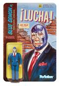 Lucha Libre Blue Demon Jr In Suit Reaction Figure (Net) (C: