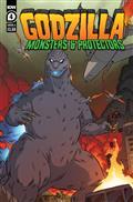 Godzilla Monsters & Protectors #4 Cvr A Dan Schoening