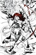 Red Sonja Black White Red #1 Cvr M Lupacchino Ltd Virgin (C: