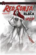 Red Sonja Black White Red #1 Cvr O Deibert & Staggs Sgn Atla