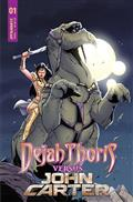 Dejah Thoris vs John Carter of Mars #1 Cvr C Miracolo