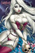 Lady Death Treacherous Infamy #1 (of 2) Cvr B Turner Violet