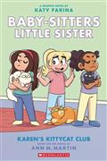 BABY-SITTERS-LITTLE-SISTER-HC-GN-VOL-04-KARENS-KITTYCAT-CLUB