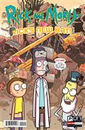 Rick And Morty Presents Hotel Immortal #1 Cvr A Ellerby (MR)
