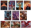 Dungeons & Dragons Book Cover Series1 48Pc Magnet Asst (C: 1