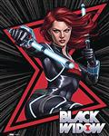 Marvel Heroes Black Widow 10In Wood Art (C: 1-1-2)