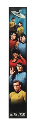 Star Trek Line Up 30In Wood Wall Art (C: 1-1-2)