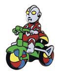 Ultraman With Trike 1.5In Enamel Pin (C: 1-1-2)