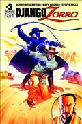 Django Zorro #3 (of 6) Cvr C Mayhew Exc Subscription Var