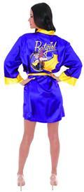 DC Bombshells Batgirl PX Satin Robe Sm/Med (O/A) (C: 1-1-2)