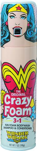 Wonder Woman Crazy Foam (Net) (C: 1-0-0)