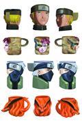Naruto 6 Oz Molded Mug 4Pk (C: 1-1-2)