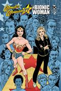 Wonder Woman Bionic Woman 77 #2 (of 6) Cvr B Lopresti