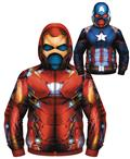 Marvel Identity Crisis Reversible Costume Hoodie Lg (C: 1-1-
