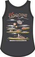Star Wars Visit Tatooine Black Cross Tank Lg (C: 0-1-0)