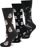 Star Wars The Force Awakens 3 Pair Socks Gift Set (C: 1-1-2)
