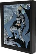 Batman Gotham Watchguard Lenticular 3D Shadowbox (C: 1-1-0)