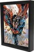 Superman Bullets Lenticular 3D Shadowbox (C: 1-1-0)