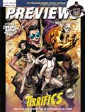 Previews #352 January 2018 * Includes A Free Marvel Previews And Image Plus