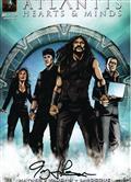 Stargate Atlantis Hearts & Minds #1 Larocque Signed Cvr