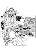 Grimm Tales of Terror 2017 B&W #1 (of 5) B Cvr Ortiz