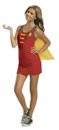 DC Robin Cape Tank Dress Lg (C: 1-0-2)