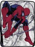 Marvel Ultimate Spider-Man Fleece Blanket (C: 1-1-2)