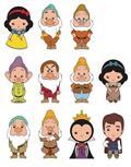 Disney Snow White Cut Figural Keyring 24Pc Bmb Ds (C: 1-1-2)