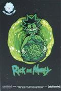 Rick And Morty Glow In The Dark Ricks Isotope Lapel Pin (C: