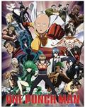 One Punch Man Heroes Group Sublimation Throw Blanket (C: 1-0