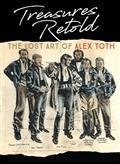 Treasures Retold The Lost Art of Alex Toth HC (C: 0-1-2)