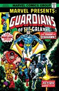 Marvel Presents #3 Gotg Facsimile Edition