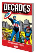 Decades Marvel 50S TP Captain America Strikes