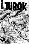 Turok #1 30 Copy Castro B&W Incv (Net)