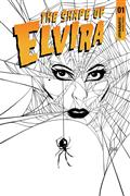 Elvira Shape of Elvira #1 20 Copy Strahm B&W Incv (Net)