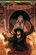 Zorro Sacrilege #1 Martinez Possession Cvr
