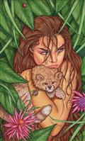 Cavewoman Markhams Mansion One Shot #1 Cvr F Valentina (Net)