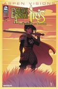 Aspen Visions Iris Midst of Chaos #1 (of 3) Cvr B Gunnell