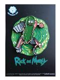 Rick And Morty Leaping Pickle Rick Pin (C: 1-1-2)