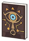 Loz Breath of The Wild Sheikah Slate Pvc Journal